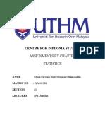 Satatistic Individual Assignment