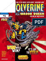 Wolverine vs the Brood Queen