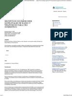 Decreto 174-89 - Infojus - Recepcion de Emisiones Satelitales de Radio y Television Para Uso Domestico