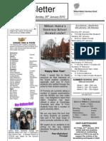 Newsletter _ Issue 3 _ 26 Jan 2010