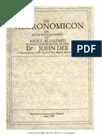 John Dee - Necronomicon Scanned Vesrion Cd10 Id401508215 Size6615