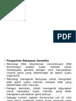 TDR1 dasar dasar biotek