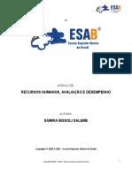 6- Módulo RECURSOS HUMANOS, AVALIAÇÃO E DESEMPENHO.pdf
