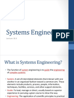 System Eng Lecture 1 2