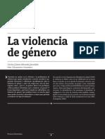 Articulo Violencia de Género