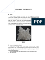 Kristal dan kristalografi