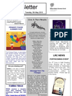 Newsletter 6 _ 5 May 2010