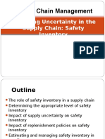 Managing Uncertainty in the Supply Chain Safety Inventory8&9
