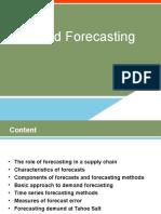 Demand Forecasting 3&4
