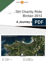 TTSH Charity Ride 2013 Presentation