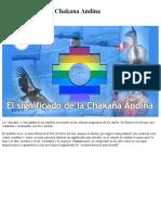 Chacana Andina
