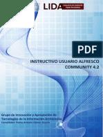 Manual usuario Alfresco Community