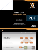 Module Basic Ovm Session7 Sequences and Tests Jaynsley