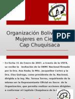 Organización Boliviana de Mujeres en Ciencia TALLER DOCTORADO Def
