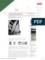 Arquitetura, Projeto e Conceito