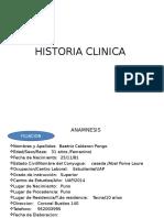 Historia Clinica Cirugia II
