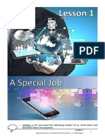 Ingles 1 - Depto DPyT - Lesson 1