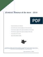Nautical Almanac 2016 - PDF