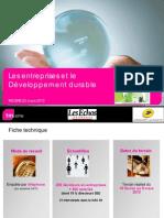 2010 03 30-Les Entreprises Et Le Ddurable