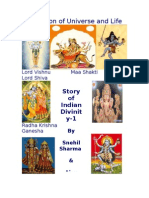 Story of Indian Divinity-Evolution of Universe