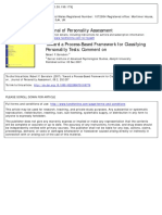 Bornstein (2007,JPA) Toward a Process-Based Framework for Classifying Personality Tests