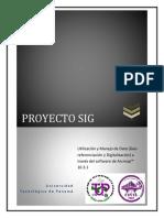Digitalizacion y Manejo de Data (Georeferenciacion y Digitalizacion) a Través Del Sofware Arcmap 10.3.1