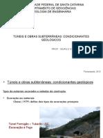 Túneis e Obras Subterrâneas