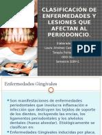 Laurajimenezdf7102 Clasificacionlesionesperiodonto 091015172619 Phpapp02