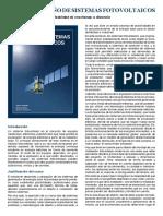 Curso de Diseño de Sistemas Fotovoltaicos (a Distancia)