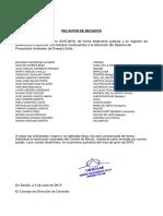 Lista de Solicitantes (U.E.) Que Han Obtenido Beca Para El Curso de Proyectista Instalador de Energía Solar (Convocatoria de 2015)