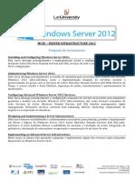 6 - Propaosta de MCSE Server 2012 Oficial 2016 - John Dias