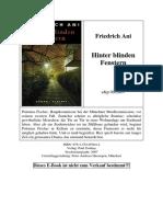 Ani, Friedrich - Polonius Fischer - 02 - Hinter Blinden Fenstern