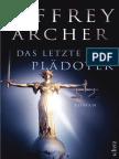 Archer, Jeffrey - Das Letzte Plädoyer