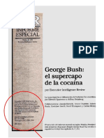 George Bush o Super Capo Da Cocaina