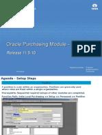 Oracle EBS Purchasing v1.0-IX