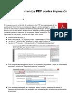 Como Proteger Documentos PDF Contra Impresion y Copia 10416 Mkn1u1