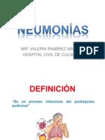 Neumonia Adquirida en La Comunidad y Nosocomial