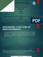 Presentacion Artículo Técnico Mantenimiento 12-04-2016