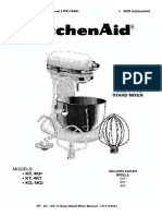Kitchen Aid 6 Qt Service Manual