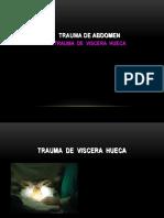 Trauma Abdominal, Viscera Hueca