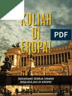 Buku 6 -- Kitab Hitam Super Lengkap Untuk Kuliah Di 17 Negara Eropa