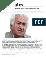 Apostolii Epocii de Aur Episodul 16. Nicolae Pleşiţă, Securistul Care a Adus Terorismul În România
