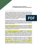Institucionalizacion de La Geografia- Capel