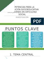 Competencias Para La Intervención Socioeducativa Con Jóvenes En