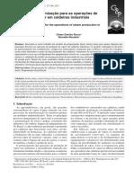 Artigo Modelo de Otimizaçao de Produçao de Vapor
