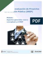 Modulo1 Aspectos Generales Enfoque de Desarrollo y El SNIP
