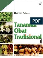 Tanaman Obat Tradisional