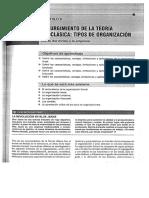 Organización Funcional, Lineal y Staff