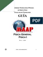 GUIA MAAP FISICA GENERAL-FISICA I 2016-19.pdf