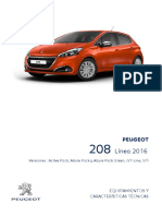 Peugeot 208 Nuevo GT Line